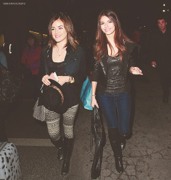 Victoria Justice + Lucy Hale requested by anonymous