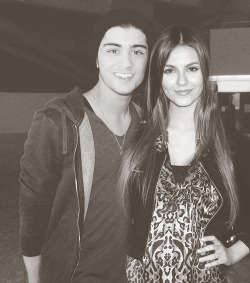 Zayn Malik + Victoria Justice requested by anonymous