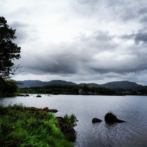 Lough Eske lake in Donegal (Taken with Instagram at Lough Eske)