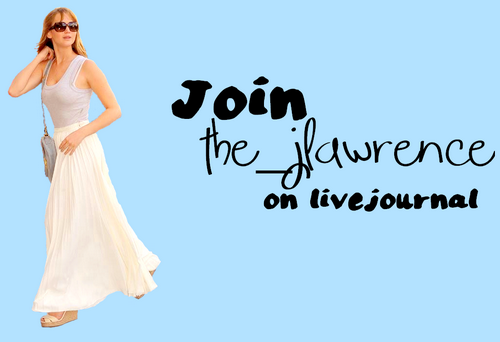 Please join livejournal's best source for all things Jennifer Lawrence! the_jlawrence! We post all the news and all the pictures you could ever ask for! Check us out! You can even follow us on twitter @the_jlawrence_lj ! Why aren't you there yet?