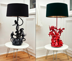 Kickass Alien Lamps and Furniture