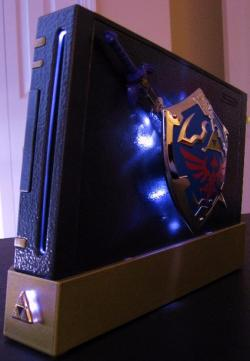 Zelda Case Mod For Wii