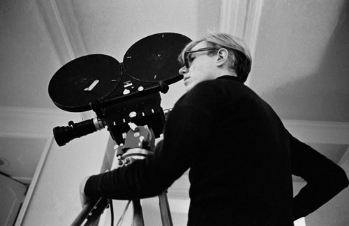 "thewarholfactory:  Andy Warhol shooting ""Snow White"""
