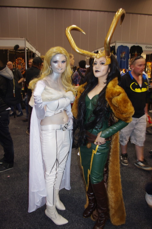 deensey:  Emma Frost and Lady Loki  Folks, I've written a piece for my friend Liz's site Cosplaynaut regarding Oz Comic-Con and how it went massively wrong PR-wise. We'd both be grateful if you could give it a look.