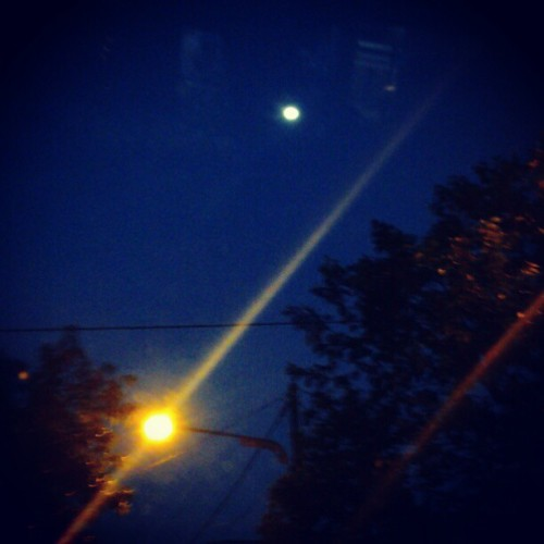 #moon #night  (Taken with Instagram)