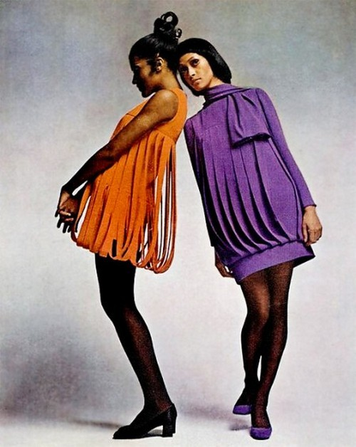 theswinginsixties:  Dresses by Pierre Cardin, 1969.
