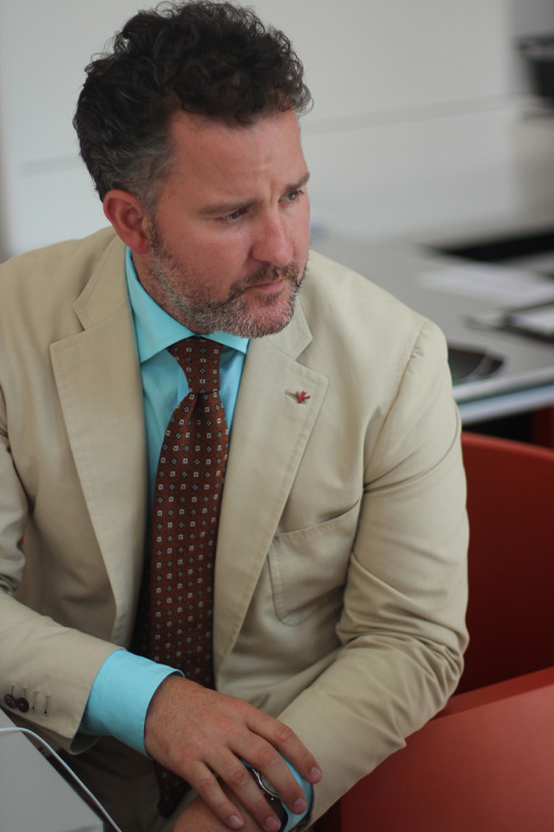 aneapolitandream:  Jim Shay of ISAIA
