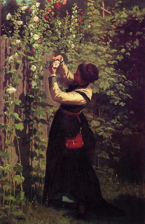 Eastman Johnson, Catching the Bee 1872