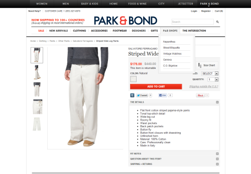 I wish Park & Bond recorded its buying meetings and made the files publicly accessible because I'd love to hear the logic behind the decision-making process on this one.