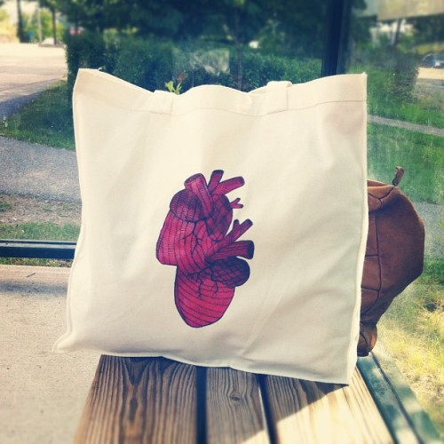 Best new tote bag from @cassandramelodie  (Taken with Instagram)