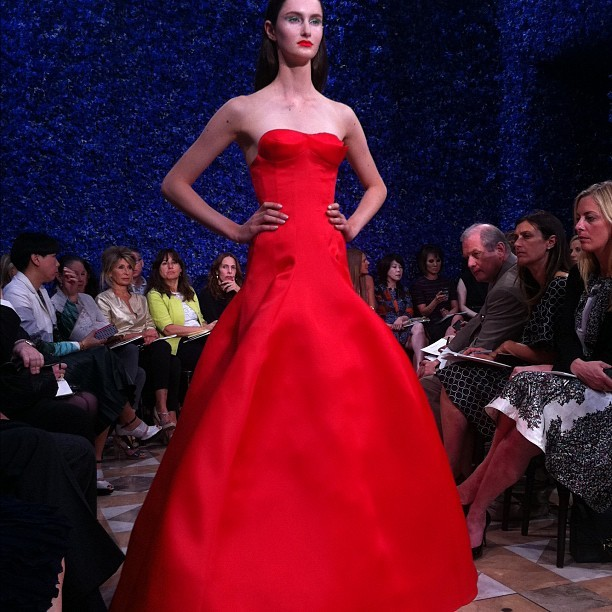 officialstyledotcom:  Another Dior look. NP (Taken with Instagram)