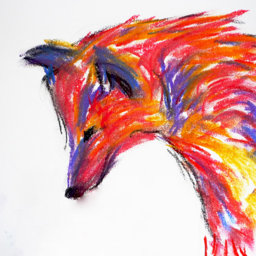eatsleepdraw:  Naomi the Wolf of Rainbow Living. Symbolising the fierce pride of rainbow livers!http://evolutionary-pandas.tumblr.com/tagged/my%20art