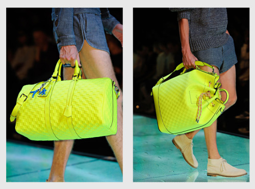 Louis Vuitton mens SS13 bag collection
