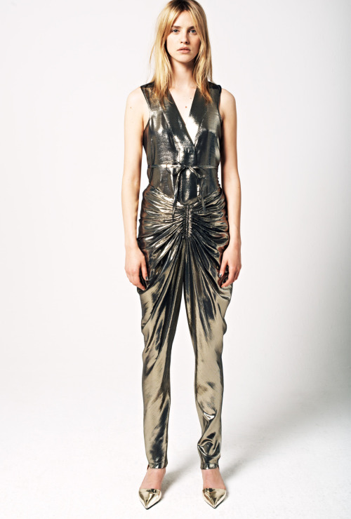 Major metallics at See by Chloe resort 2013.