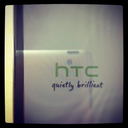 #HTC are really asking for trouble when they put sh!t like this on their splash screens when the phone randomly crashed and takes 10minutes to restart itself… #iPhone next methinks… (Taken with Instagram)