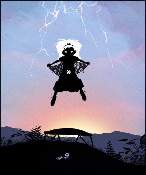 Storm Kid by *AndyFairhurst