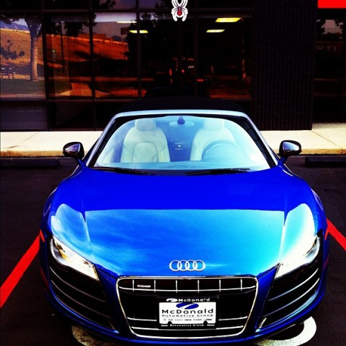 Vroom vroom! #V10 @Audi #R8 in the house! (Taken with Instagram at Spyder Active Sports)