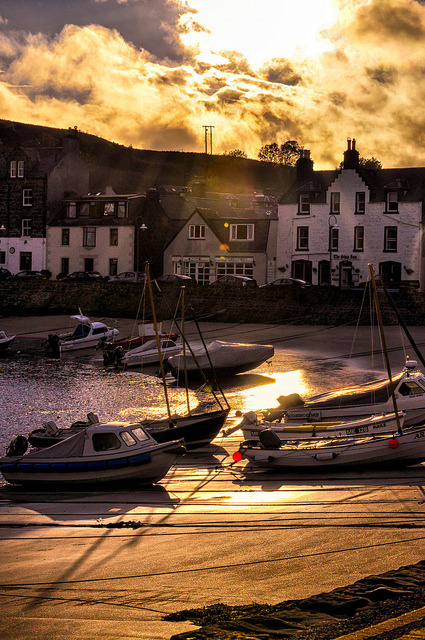 Stonehaven on Flickr.Via Flickr: I was revisiting some old photos, thought this one looked pretty nice with some warmth added.