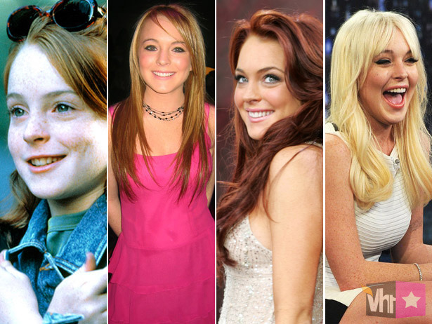 Lindsay Lohan's Hairvolution: 50 Shades Of LiLo On Her 26th Birthday [VH1 Celebrity]