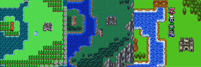 Dragon Warrior III as seen on the NES, SNES, and GBC. Thinking about springing for the GBC version. Thoughts?