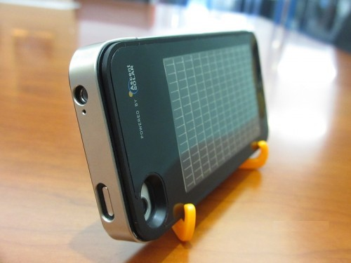 Solar-Powered Charger for the Apple iPhone By Joshua S Hill Leave a Comment, cleantechnica.com The Apple iPhone already has a pret­ty decent bat­tery life, but with the new Ener­Plex from Ascent Solar Tech­nolo­gies, that bat­tery life could grow even more. The Ener­Plex is a new line of con­sumer prod­ucts that incor­po­rates Ascent sola…