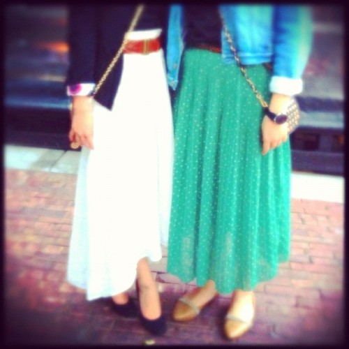 Long skirts love 💃 #retro and #classic (Taken with Instagram)
