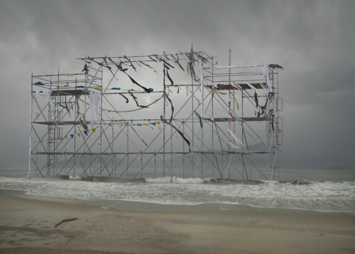 paddle8:  Anthony Goicolea, Monument, 2011, photograph mounted on aluminium and laminated, 50 x 70 inches, courtesy of Postmasters.