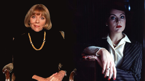 "backofthebookshelf:  doctorwho:  Doctor Who casting news: Dame Diana Rigg and Rachael Stirling to Star in New Series! It's just been revealed that the legendary Dame Diana Rigg will star in the new series of Doctor Who. And as if that wasn't brilliant enough, she will star alongside her daughter, Rachael Stirling, in an episode written by Mark Gatiss! Very light spoilers below.  The Press Release confirming the news was released today and reads: Mother and daughter Dame Diana Rigg and Rachael Stirling are set to star side by side in the BBC Wales drama Doctor Who, the first time the pair have ever worked together on screen. Character details remain under wraps, but the episode penned by Mark Gatiss will see Dame Diana and Rachael recreate their off-screen relationship on-screen, as they play a mother and daughter with a dark secret. Starring alongside the Doctor, Matt Smith and new companion Jenna-Louise Coleman, the episode will air on BBC One in 2013 and is directed by Saul Metzstein. Filming begins this week (2 July) at Roath Lock Studios in Cardiff. Dame Diana Rigg, who will play a Yorkshire local, said: ""The first time Rachie and I will be working together is on an episode of ""Doctor Who"" specially written for us by Mark Gatiss. How lucky is that?"" Rachael Stirling, on working on Doctor Who, said: ""What joy. I am looking forward to the madness of Doctor Who enormously. Mark Gatiss has written a gift of a script and an on-screen relationship between Ma and I that is truly delicious. We have never before worked together because the offers have not been tempting, but when such a funny and original script comes through you know the time has come."" Steven Moffat, executive producer and head writer on Doctor Who, said: ""Dame Diana Rigg, Rachael Stirling and a Mark Gatiss script - a combination of talents you could only get in Doctor Who! Frankly, I'm terrified already!""   I have been meh about Doctor Who lately (too many other feels) but DIANA FUCKING RIGG. WILL BE IN DOCTOR WHO. Fuck yeah.  *SCREAMING* WAIT TILL I TELL MOTHER"