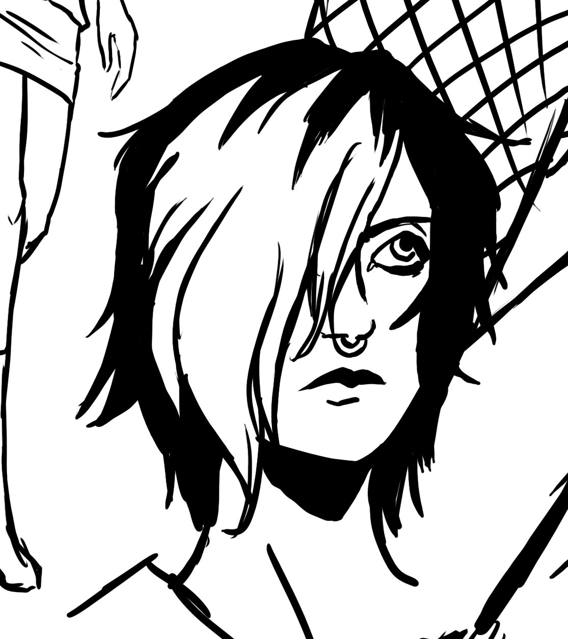 So happy Mira's first page turned out well in the inking process.I'd stay up all night just to get it the way I wanted to.Turns out I got it on my first try!Who's da man?