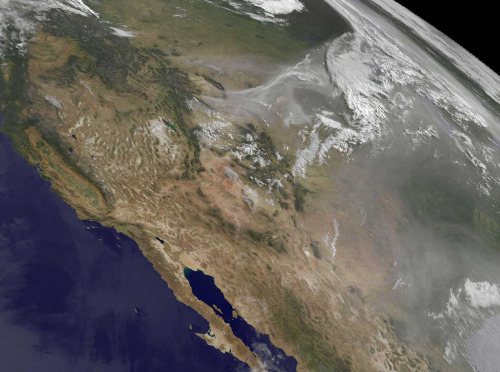 The scale of the fires burning in the Western United States this summer can be hard to fathom. But the view from space reveals the true extent of the devastation. Satellites have captured some sobering images of the fire, smoke and burn scars scattered across the Intermountain West. While the fires in Colorado are dominating the news this week, blazes have also been raging in New Mexico, Utah and Arizona in June. Here are some of the scenes from space collected by NASA, NOAA and the U.S. Geological Survey this month.