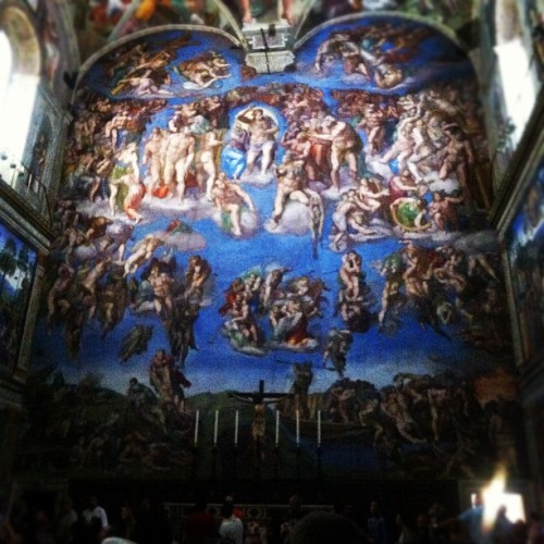 The Last Judgement, Sistine Chapel, Rome
