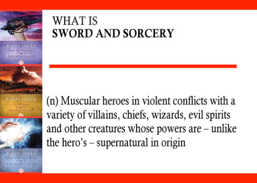 Today launches our Genre Spotlight. We'll be reading a classic piece of Sword & Sorcery, an often overlooked genre of Fantasy. Read our Free Short Story with us (starting later this week) and learn all about this fantastic genre. We're starting with a definition of what is the genre, Sword & Sorcery.
