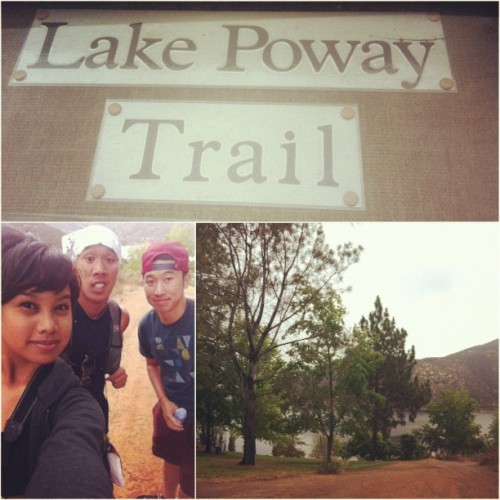 And we go! #hiking #MountWoodson! #instagram (Taken with Instagram)