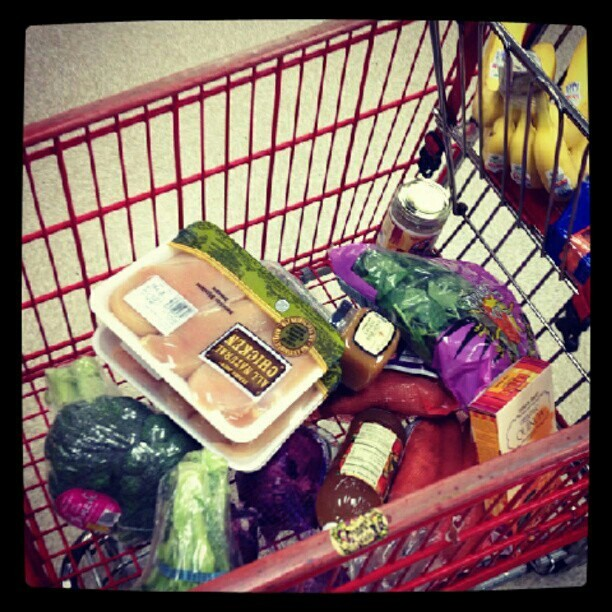 One ingredient in everything that is in this cart #Nutrition #Fitness  (Taken with Instagram)