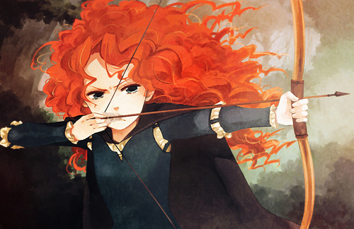 watched Brave yesterday!