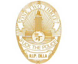 rappcats:  Don't call it a Dilla x LAPD collab. Props to Hit+Run Crew for this one.