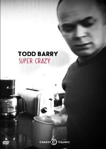 Pre-order this, you guys! Pre-order it like the wind! Todd Barry: Super Crazy premieres on Comedy Central, Saturday, July 21 at 11/10c.