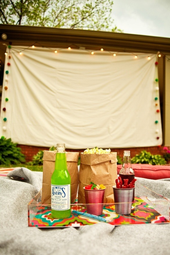 Now that summer is upon us it's time to take entertaining outdoors.  To make your summer celebrations unique, fun, and memorable, start with a theme.  Whether you decide to have a movie night in your back yard, or a vintage preppy crochet party, a theme gives you something to build your menu and decorations on.