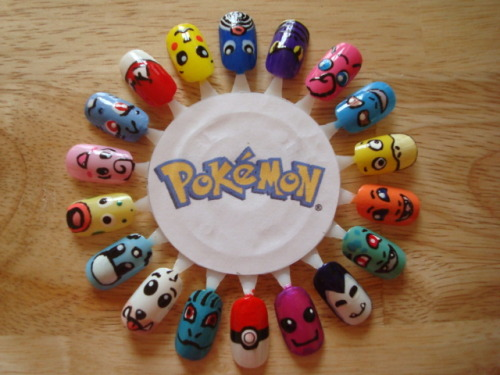 pokemon nail set