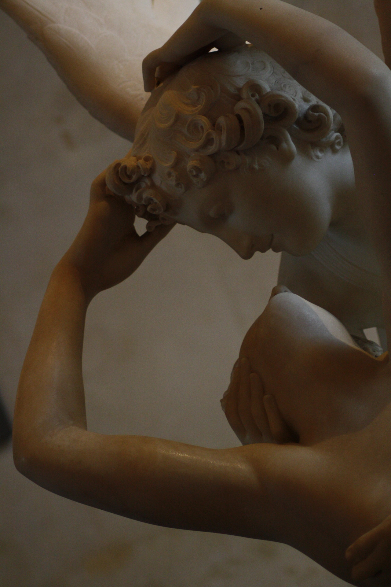 Cupid & Psyche, detail, Musee du Louvre, 2012 My second favourite sculpture in the Louvre.