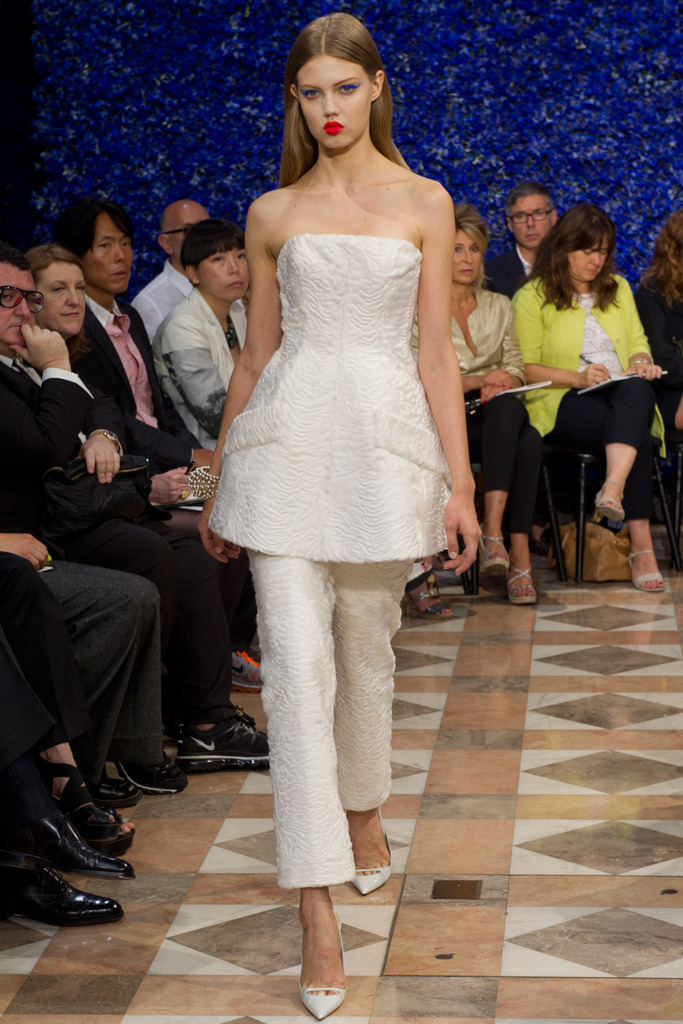bohemea:  Lindsey Wixson - Dior Couture Fall/Winter 2012-13, July 2nd 2012
