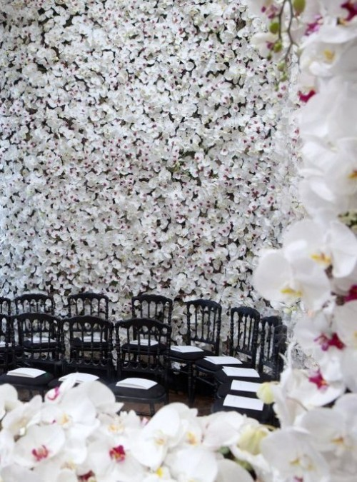 The set at Dior Haute Couture F/W 2012, via Dior's Twitter This is ridiculously gorgeous.