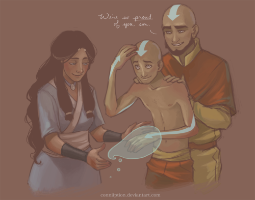 conniiption:  Tenzin earns his tattoos.