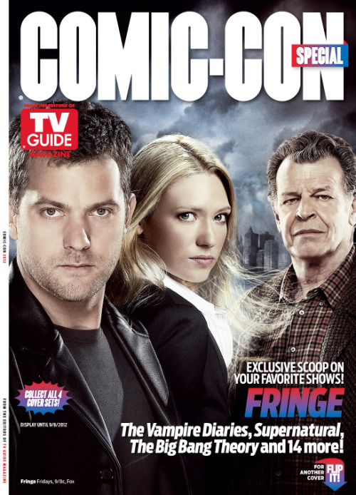 tribeofdunhams:  starbuck125:  #FRINGE #SDCC Special TVGuide cover!   well fuck   weeeeeeeeepppp…. :( I want to be in the US now.