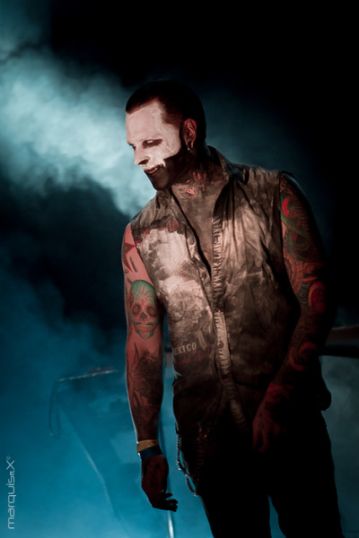 apuppeteerofalostworld:  Combichrist live at the WGT 2012