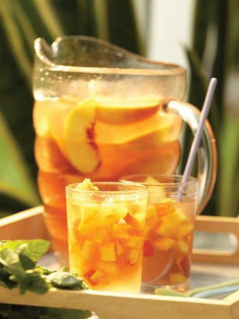 ivillagefoodies:  50 Amazing Summer Drinks: Lemonade, Mojitos, Sangria and More!As temperatures rise, reach for one of these thirst-quenching summer drinks. We've got nonalcoholic recipes for lemonade, iced tea and soda plus classic and unexpected cocktails. Whatever you're drinking, raise a glass and toast summer! Get all the recipes here, including the one pictured for East Coast Grill Sangria!