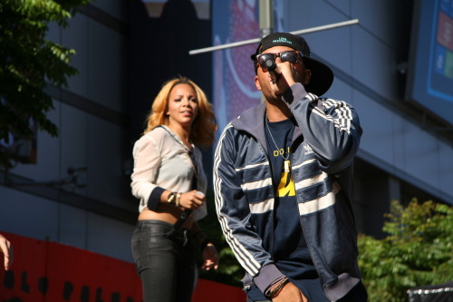@KOVAS & @ThePoJohnson Rocking The X Games in LA June 29, 2012
