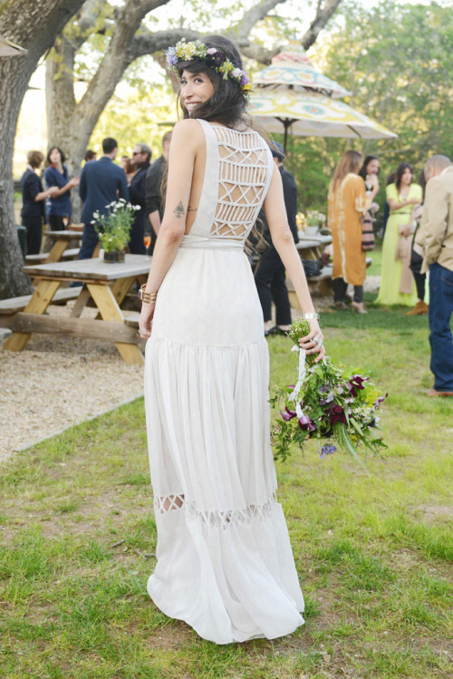 what-do-i-wear:  pamela love's wedding (image: vogue)