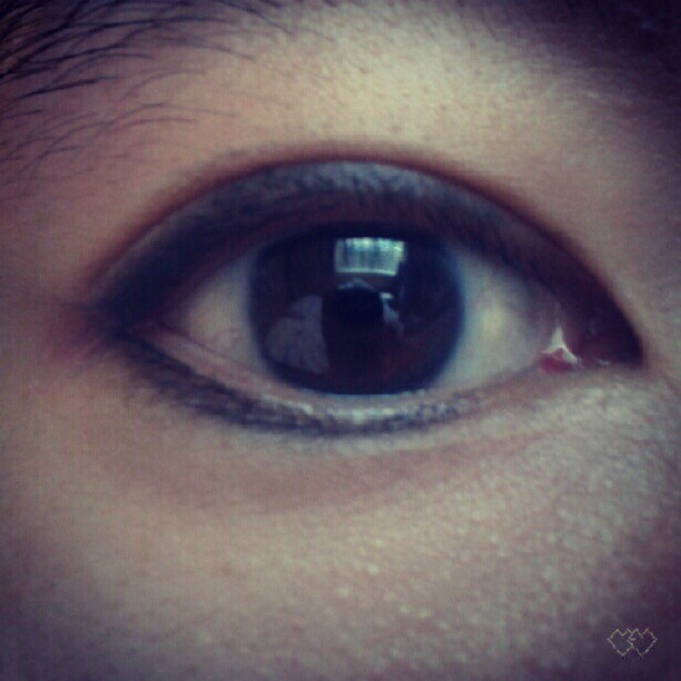 #LIFE : #BOBBIVIE + #EYELINER : Day 3 (Taken with Instagram)
