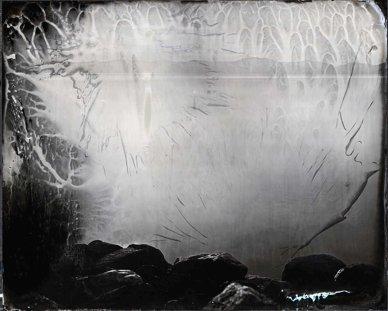 "Ian Ruhter/ Wet Plate Collodion 48'x60""/The Dark side of the Moon /Tahoe, CA /5.10.2021"